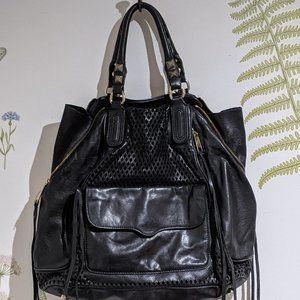 REBECCA MINKOFF Blue Leather handbag handles/strap
